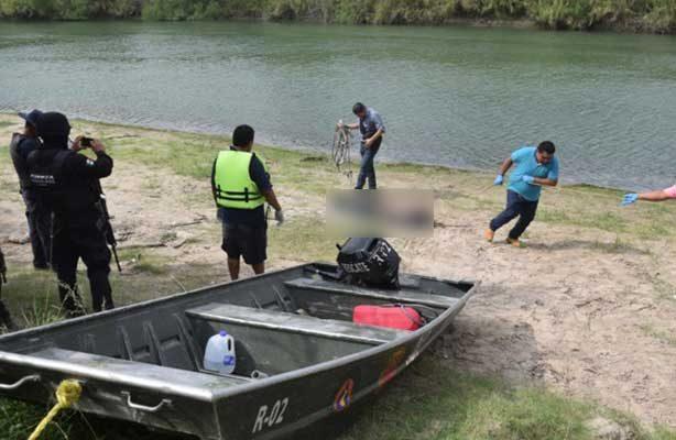 Flota cuerpo de un hombre sin vida en el Río Bravo