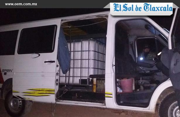 Dos menores de edad fueron detenidos por robo de diésel