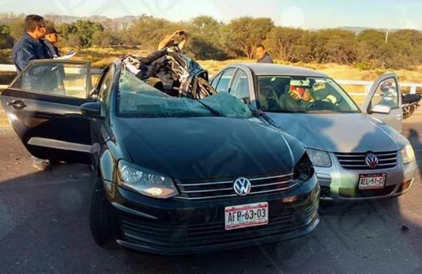 Trágico accidente en avenida Aguascalientes y Alameda en el Ojocaliente I.