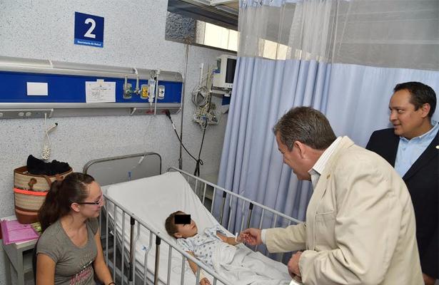 Entrega Gobernador ampliación del Hospital General de Guanajuato