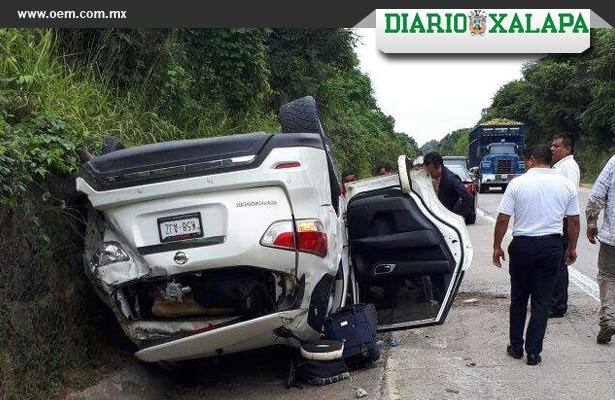 Se accidenta el diputado por Morena, Cuitláhuac García