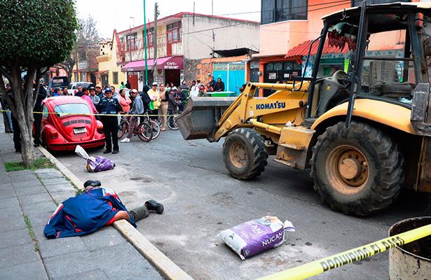 Asesinan a tubazos a empleado  Xochimilco