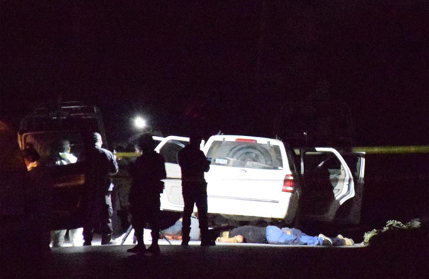 Tres pistoleros abatidos por el Ejército Mexicano