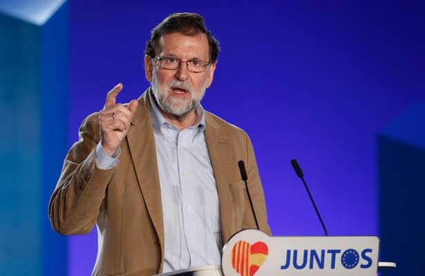 Publican  noticias falsas sobre Cataluña desde Rusia y Venezuela: Rajoy