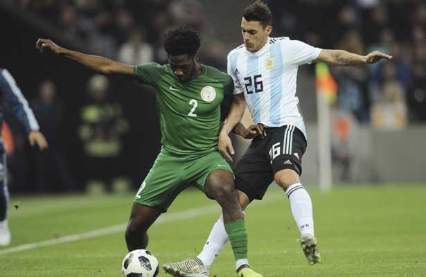 Nigeria le pega 4-2 a Argentina