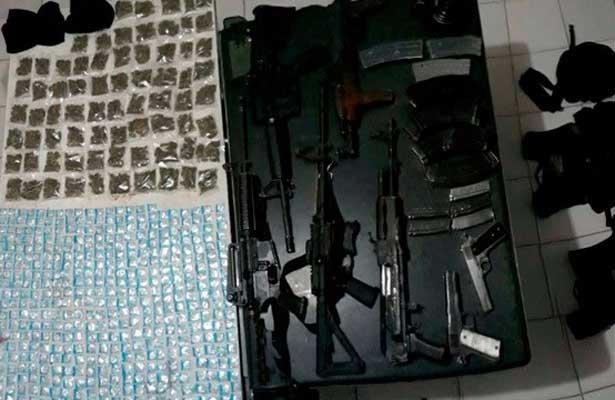 Detienen a siete delincuentes en La Piedad, Michoacán