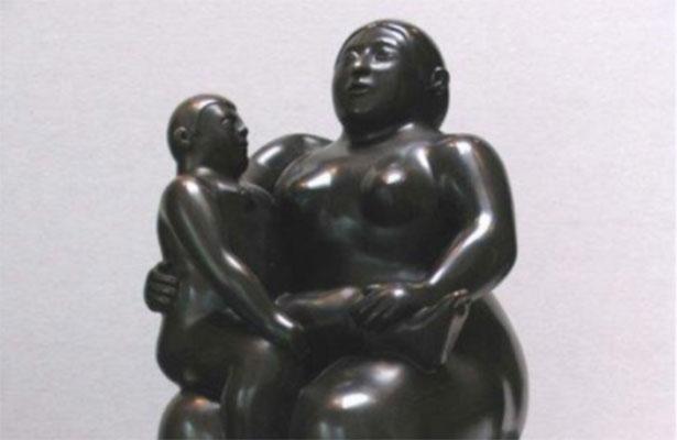 Roban en París una escultura de Fernando Botero valorada en 425.000 euros