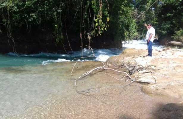 Se secan las cascadas de Agua Azul