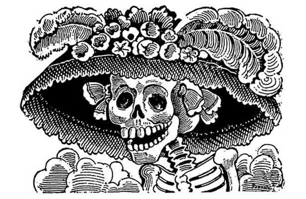 Conoce a La catrina, personaje más representativo del Día de Muertos