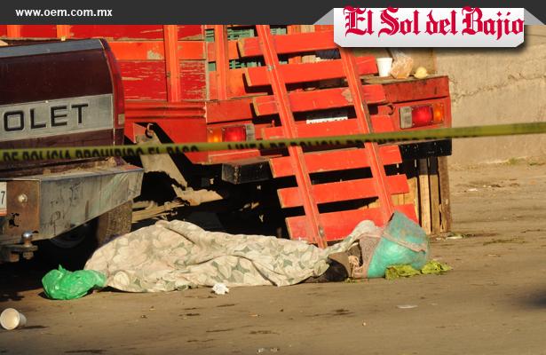 Ejecutan a hombre en Central de Abasto, el Guanajuato
