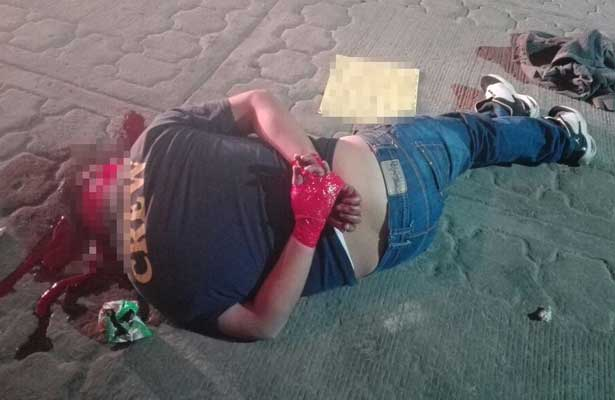 Hallan ejecutado en calles de Chimalhuacán