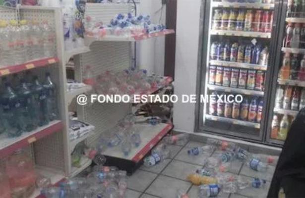 12 sujetos asaltan tienda de conveniencia en Ecatepec