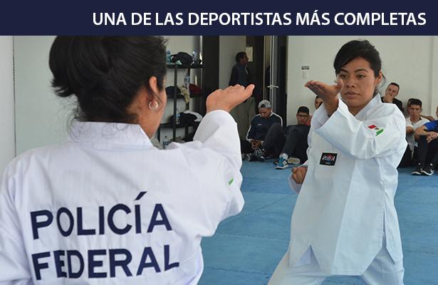 Doris Santiago cambió el Olimpismo por servir a México
