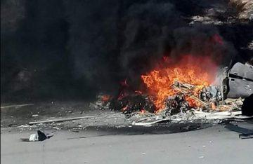 Cae helicóptero de la policía municipal de Tijuana