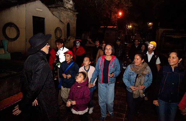 La Miguel Hidalgo rescata tradición de día de muertos