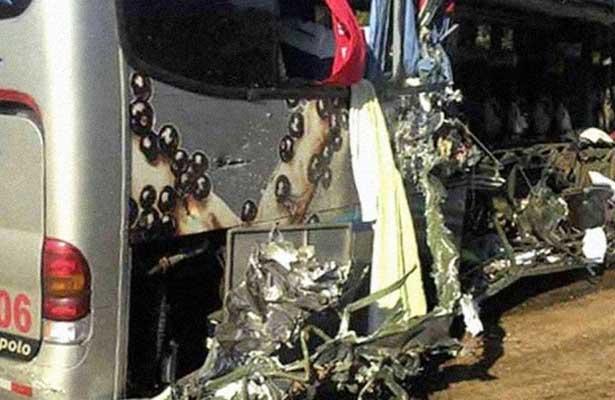 Accidente carretero en Brasil deja seis muertos y nueve heridos