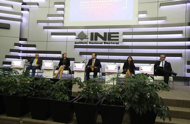 INE comprometido con la construcción de debates para orientar el voto ciudadano