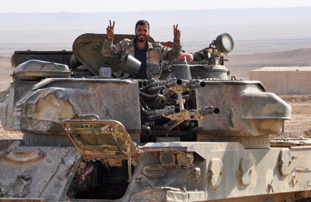 Ejército sirio recupera uno de los mayores bastiones del Estado Islámico