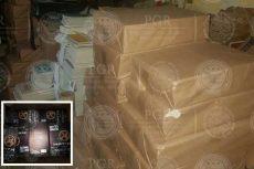 Aseguran más de cuatro mil libros pirata en Iztacalco