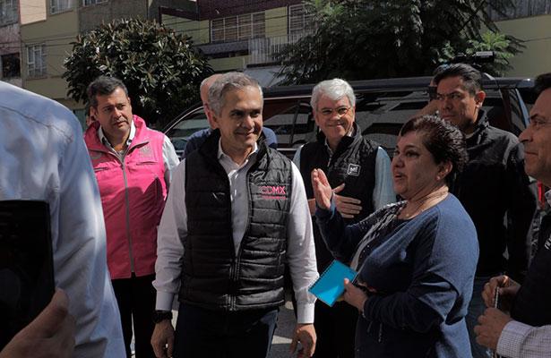 Llama jefe de gobierno a no politizar reconstrucción de CDMX