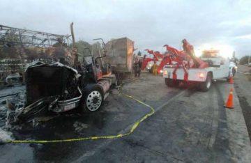 Accidente en la México -Querétaro provoca caos vial