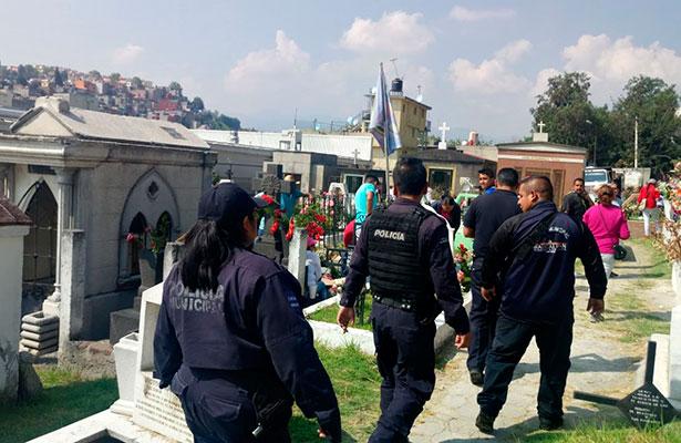 Se reporta saldo blanco en operativo día de muertos en Naucalpan