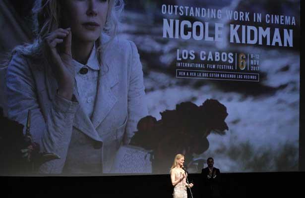 Homenajean a Nicole Kidman en Los Cabos Film Festival