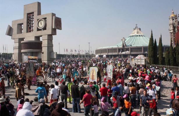 Peregrinación afecta flujo vehicular en el oriente de la capital