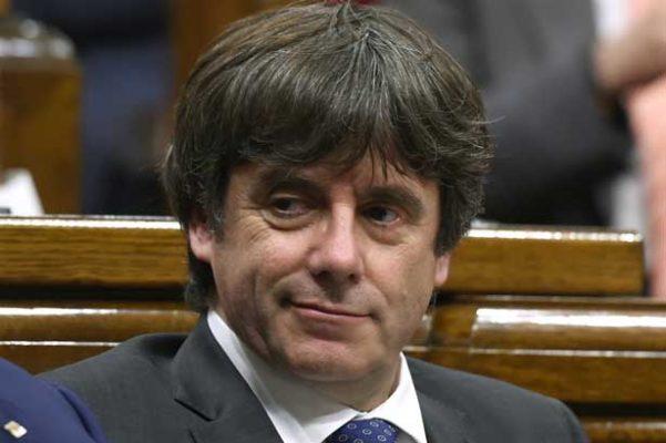 Cita justicia belga a puigdemont para declarar