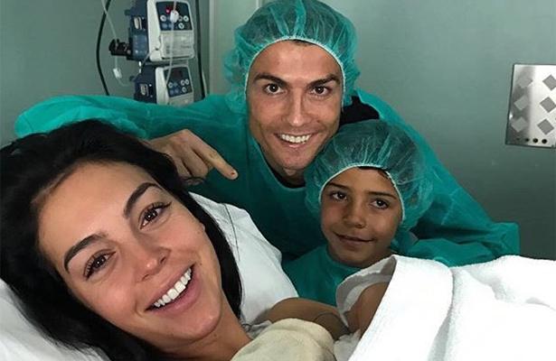 Cristiano Ronaldo, padre por cuarta vez