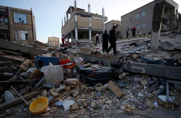 Sismo en la frontera entre Irán e Irak deja más de 300 muertos