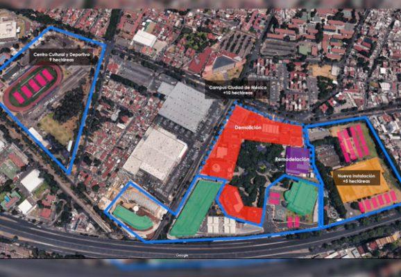 Lanza Tecnológico de Monterrey comunicado ante apuros en campus CDMX