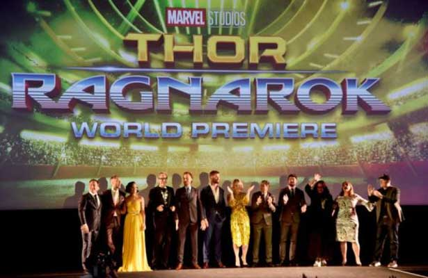 """""""Thor"""" encabeza taquilla norteamericana"""
