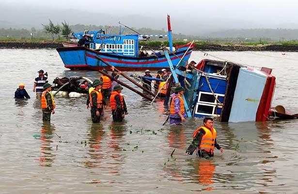 Tifón Damrey ha causado más de 100 muertes en Vietnam