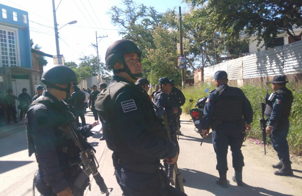 Balacera deja dos heridos tras enfrentamiento, en Oaxaca