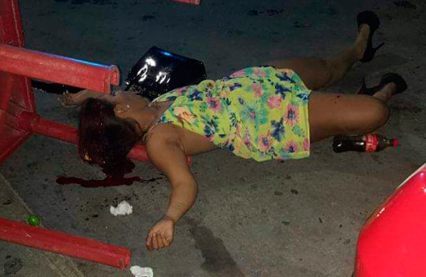 Centroamericana ejecutada a balazos en Salina Cruz