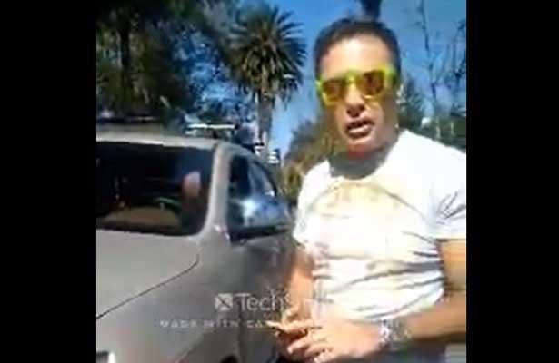 Yorsh de Polanco amenaza con difundir falsos cargos a un policía [Video]