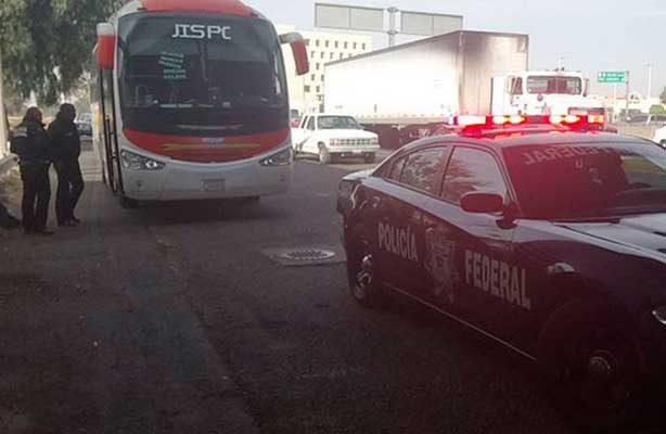 Asaltan autobús de pasajeros proveniente de Celaya con destino a San Luis Potosí