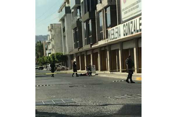 Balacera entre civiles