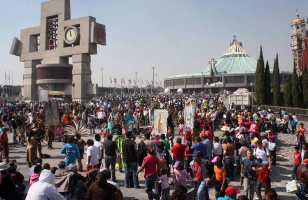 Comienza la llegada de feligreses a la Basílica de Guadalupe