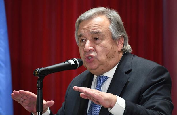 Guterres se ofrece para mediar negociación internacional con Pyongyang