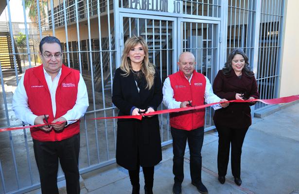 Inauguran nuevo pabellón en Cereso 1 de Hermosillo