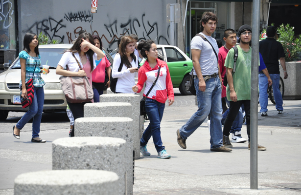 Exhortan jóvenes a la participación electoral, en Michoacán