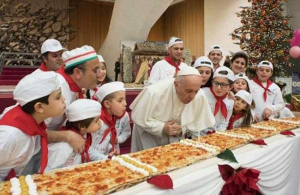 Así festejó el Papa Francisco sus 81 años