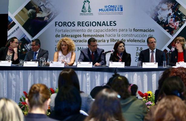 TEPJF y ONU Mujeres realizan Foro Regional, para la Formación de Liderazgos Femeninos