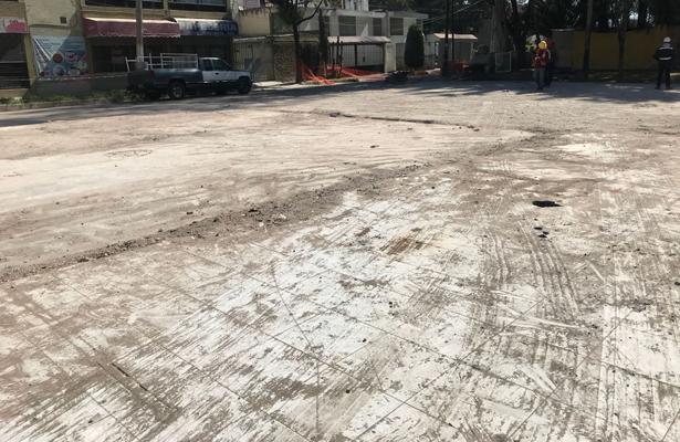 Concluye retiro de escombro de Calzada del Hueso 713