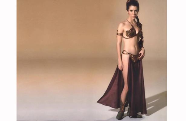 Se cumple un año sin la princesa Leia