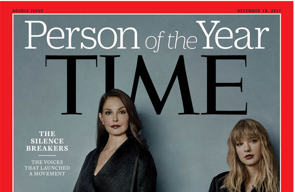 """Time nombra a movimiento contra el acoso sexual """"Persona del Año"""""""