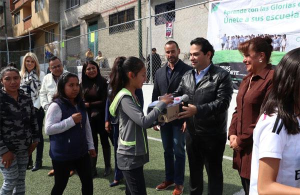 Huixquilucan se preocupa por lo más jóvenes y el deporte