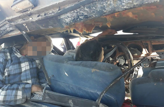 Horripilante accidente en la carretera Zitácuaro-Morelia